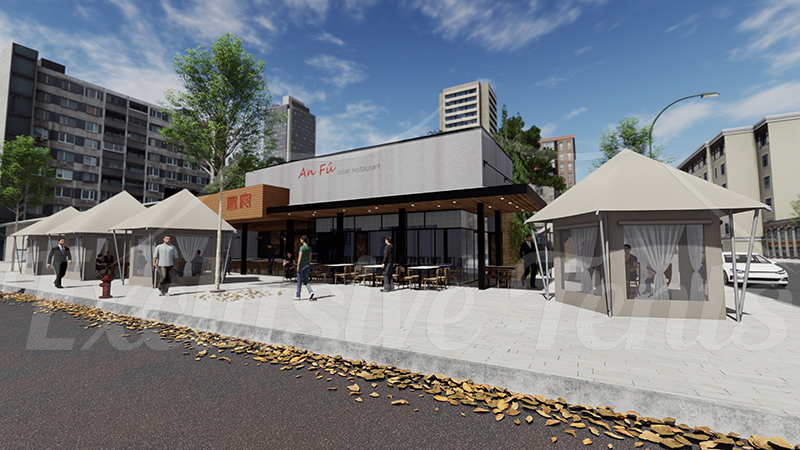 Restaurant & Cafe Dining Tents