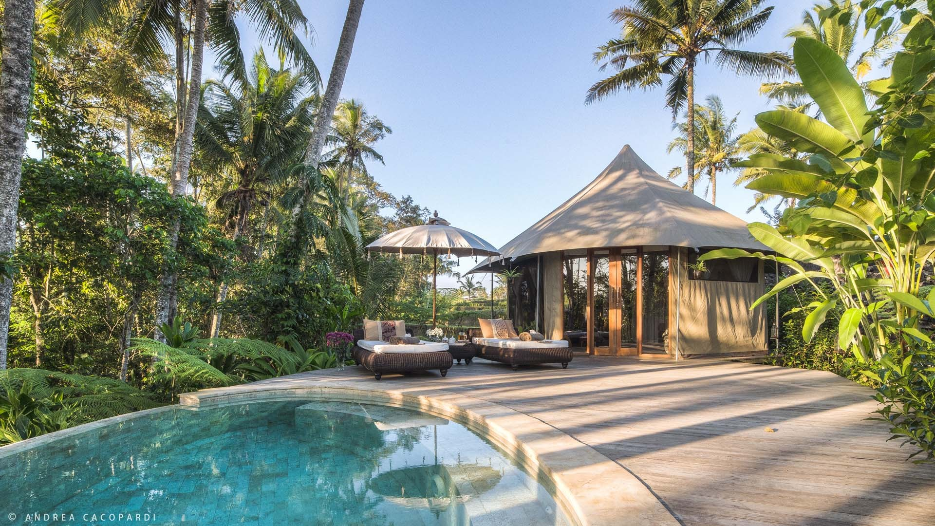 Tropical Glamping Tents
