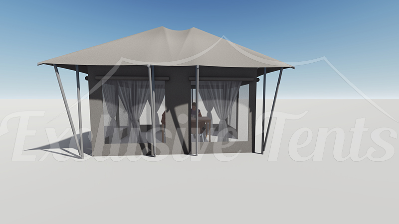 Small dining tents