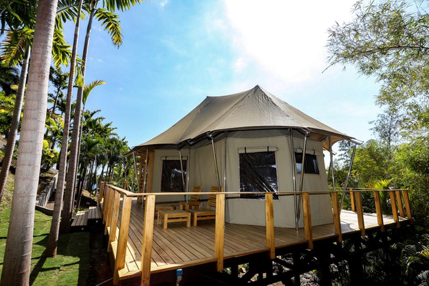Luxury Beach Tents