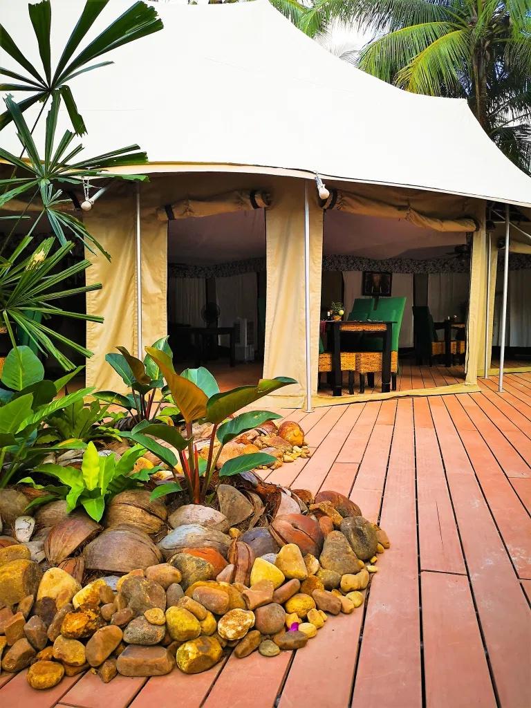 Beautiful Glamping Tents