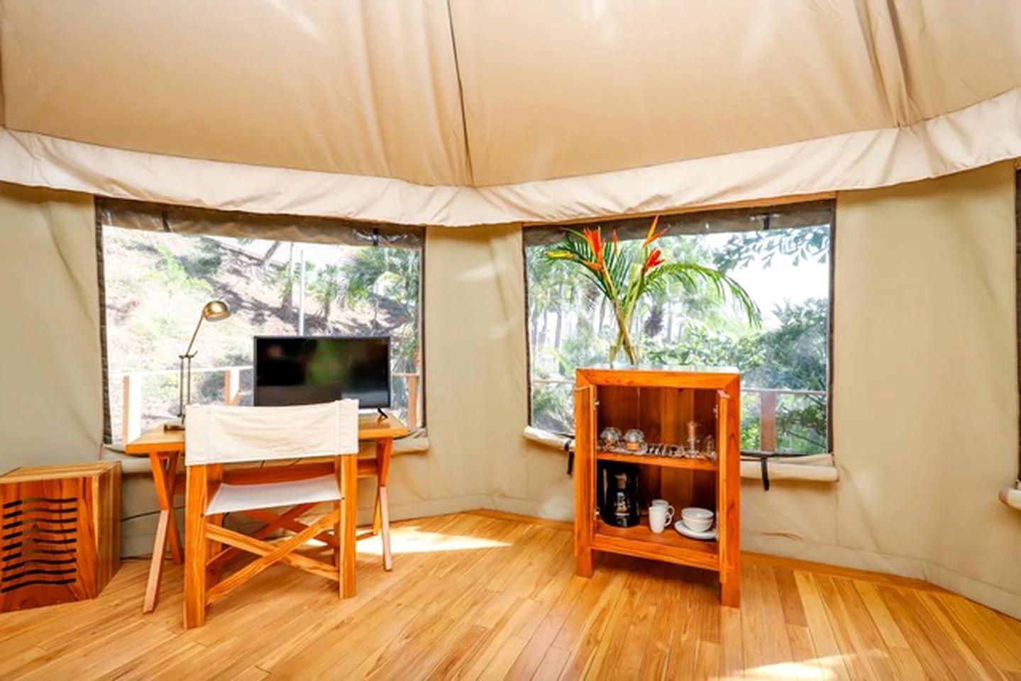 Glamping Tent Interiors