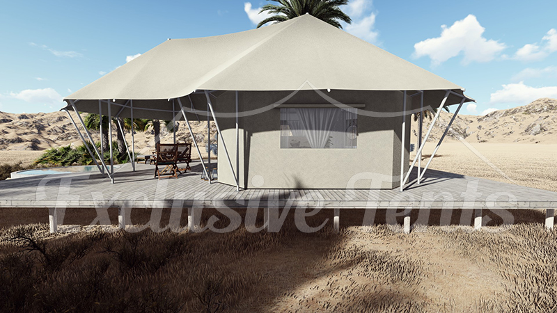 Small Luxury Tents