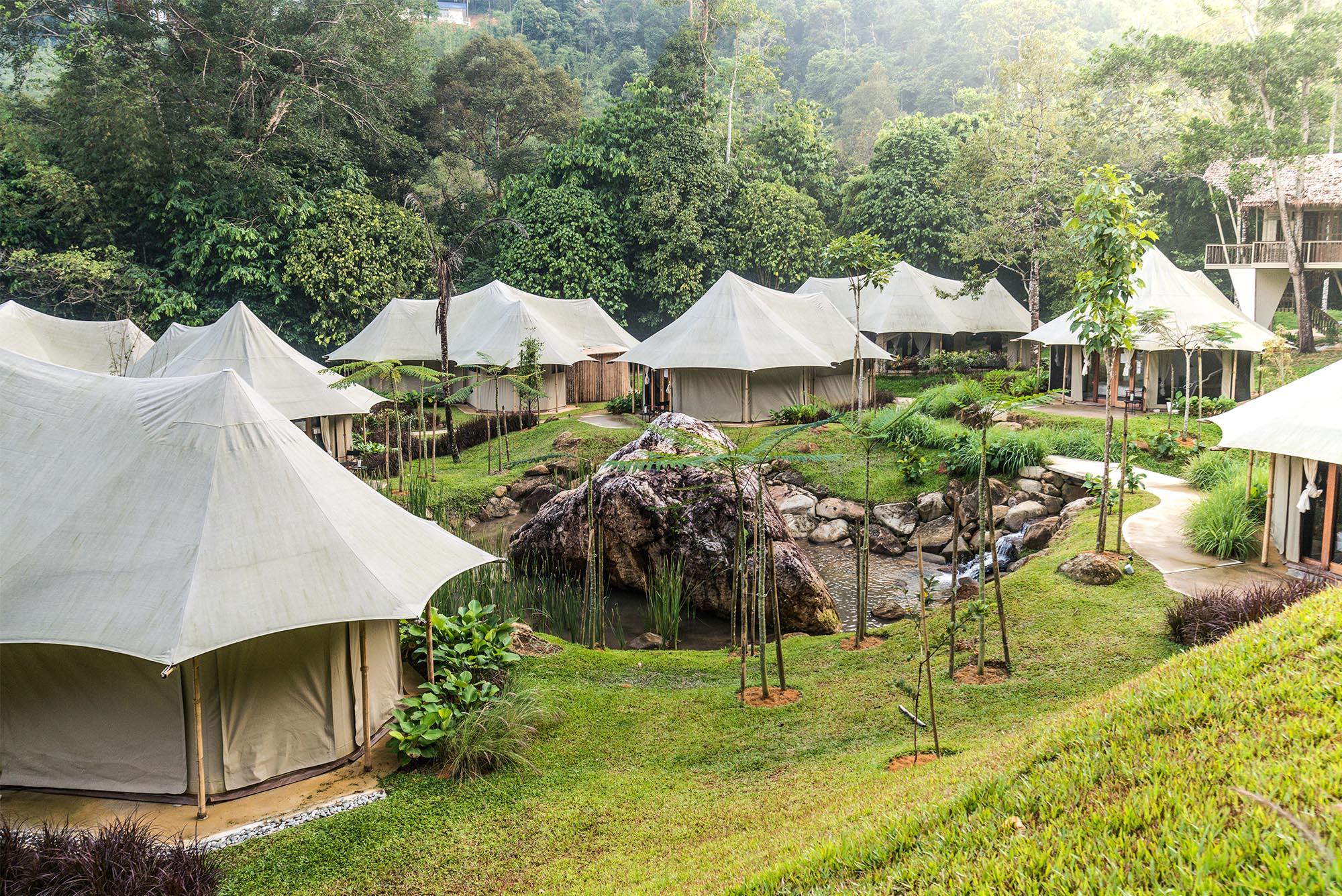 Beautiful Tents