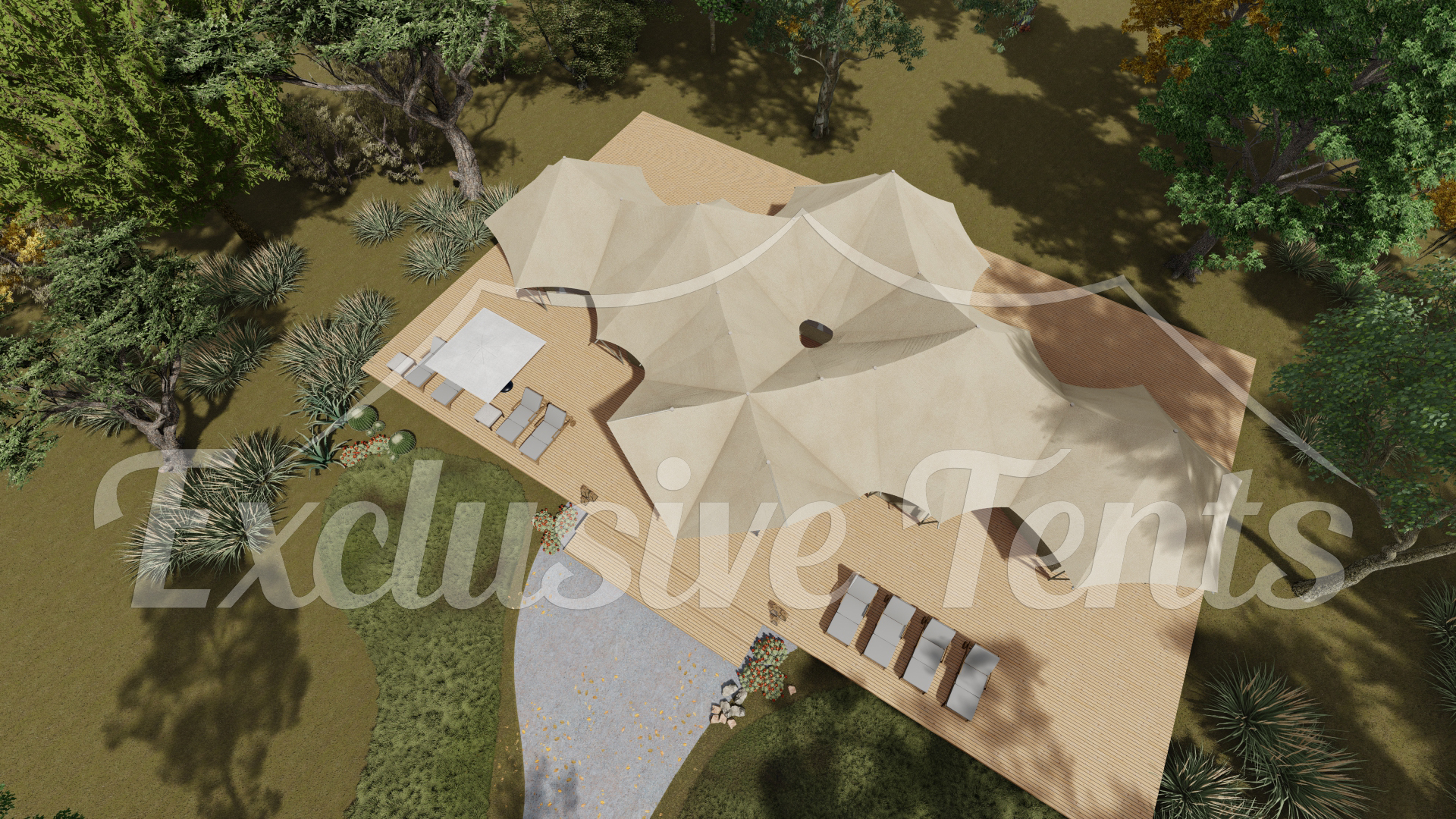 Large Luxury Glamping Tents