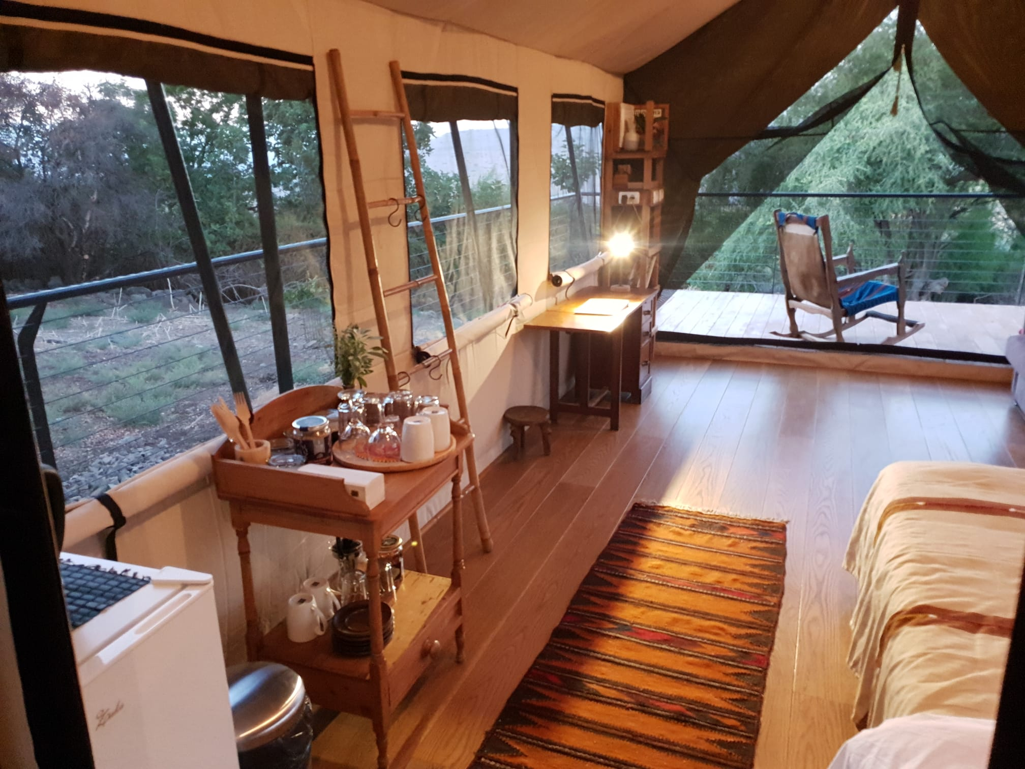 Glamping in Isreal
